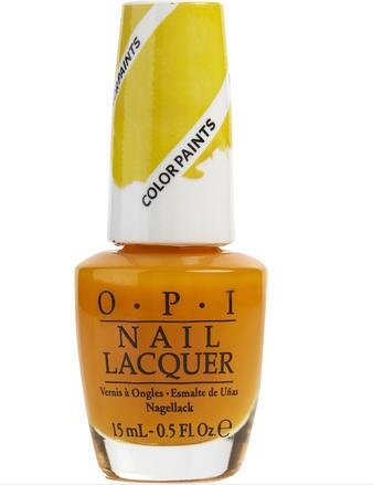 OPI 指甲油 色号Primarily Yellow